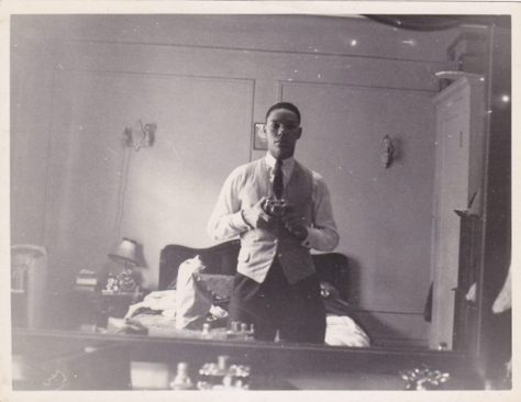 Colin Powell 60 years ago. Courtesy General Colin L. Powell.